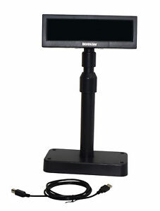 Kassendisplay Kundenanzeige Kundendisplay Bixolon BCD 1000 1100 schwarz USB A