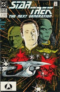 STAR TREK  THE NEXT GENERATION  #1  VF/FN  DC COMICS