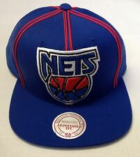 NBA New Jersey Nets Mitchell and Ness Adjustable Fit Snapback M&N NJ08Z NEW!