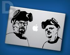 Breaking Bad Macbook decal Apple Laptop sticker / tattoo stencil decal