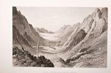 terre sainte Ouady Coeib ou Vallée de Jethro 19° estampe