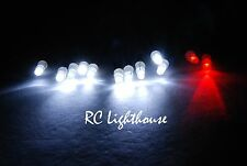 Traxxas Slash 4x4 LED Light set RPM full light set  10W2R  JR JST #54