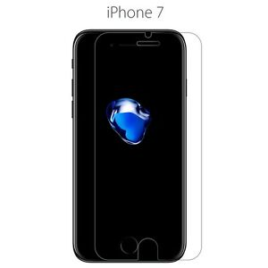 3X Hard full Cover Tempered Glass only Screen Protector For Apple iPhone 7