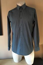 TED BAKER Mens Striped Shirt Size 3 - 42 Inch Chest FANTASTICALLY Striped