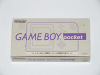Nintendo Game Boy Pocket Grey Boxed w/Manual Fully Working In Hand