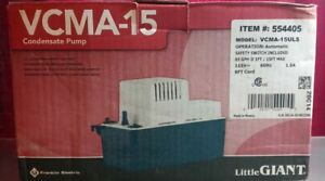 Little Giant VCMA-15ULS Series 1/50 HP Condensate Extraction Pump NOB
