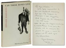 Edward Dahlberg CAN THESE BONES LIVE 1st Printing 1960 INSCRIBED to Ben Shahn