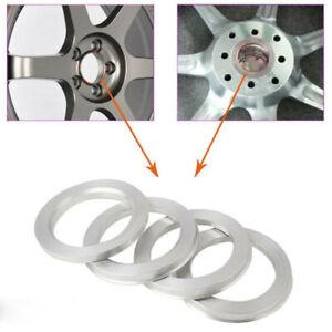 4Pcs 109 to 78.1 Car SUV Wheel Hub Centric Rings Wheel Hubrings Silver Universal