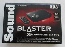 Creative Sound Blaster X-Fi Surround 5.1 Pro, SBX Pro Studio, USB Mini-B