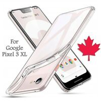 For Google Pixel 3 XL Case - Crystal Clear Thin Soft TPU Silicone Back Cover