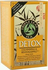 Triple Leaf Tea, Detox Herbal Tea, 20 tea bags Cleanser's tea Weight Loss Yummy!