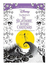 Art of Coloring: Tim Burton's The Nightmare Before Christmas: 100 Images to Ins