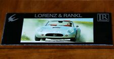 Lorenz & Rankl Silver Falcon + conversions brochure Prospekt 1988 (German text)