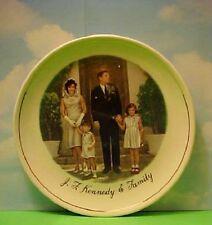 Vintage  Easter JFK & Family Plate President John F. Kennedy Collectible