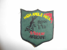 b9002 US Army Vietnam High Angle Hell 1/501st 81mm E Co Infantry Airborne ir36g