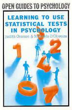 Philosophy & Psychology Workbooks/Guides Statistics Adult Learning & University Books