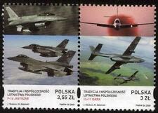 POLAND MNH 2008 Contemporary Aircraft in Poland