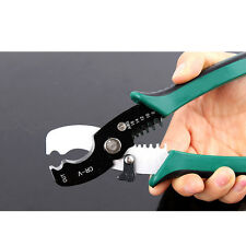 CRIMPING & CUTTING TOOL CABLE WIRE STRIPPER PLIERS ELECTRICAL CRIMPER CUTTER NEW