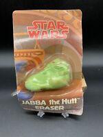 Vintage 1983 Star Wars Return of the Jedi Eraser Jabba The Hutt Eraser