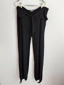 Pantalon Fluide Noir Taille Haute 52 Comme Neuf KIABI Femme