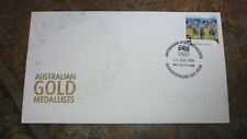 2004 AUSTRALIAN OLYMPIC GOLD MEDAL STAMP FDC, CYCLING PURSUIT TEAM MAROOCHYDORE