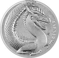 2020 Germania Beasts Fafnir  1 oz Silver Coin W/COA