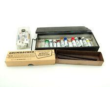 Grumbacher Oil Paints & Charcoal Plus Cotman Water Color Paint