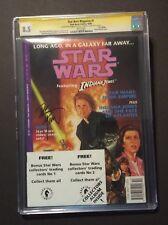 Star Wars Magazine #1 CGC 8.5 Signed by Dave Dorman Featuring Indiana Jones