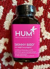 NEW Sealed HUM Nutrition SKINNY BIRD Weight Loss Supplement 90 Capsules 30 Days