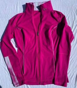 Under Armour Women's Jacket Pink~NO TAG~S/M? Purple See Measurements~ Full Zip