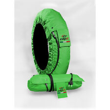 Capit Tyre Warmers Set Suprema Spina Green Front 120-17 Rear 205-16/17 M/XL