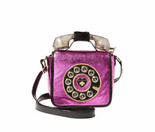 Betsey Johnson KITSCH OFF THE HOOK PHONE Crossbody Handbag BJ73100M TELEPHONE