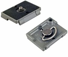 Quick Release Plates (2) for the Manfrotto RC2 Rapid Connect Adapter