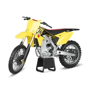 Yellow Suzuki RM-Z450 1:12 Kids Diecast Dirt Bike Motocross Motorbik Motorcycle