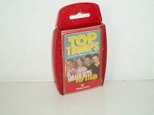 """Top Trumps Specials """"Smash Hits Pop Stars 2""""  (Mint Cond). 2003"""