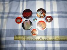 THIN LIZZY 8 VINTAGE 70`S  BADGES