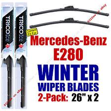 WINTER Wiper Blades 2pk Super-Premium fit 2007 Mercedes-Benz E280 35260x2