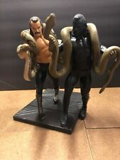 WWE Jakks Unmatched Fury PROTOTYPE! Includes Series 9 Jake the Snake Roberts