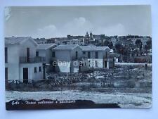 GELA nuove palazzine Caltanissetta vecchia cartolina