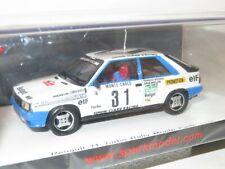 1/43 Renault 11 Turbo Simon Clarr Racing  Rally Monte Carlo 1985 A & S.Oreille