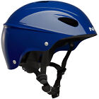 NRS Havoc Adult Livery Whitewater Kayak Rafting Safety Helmet, One Size, Blue