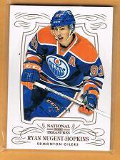 2013-14 National Treasures Ryan Nugent Hopkins /199 Edmonton Oilers #64