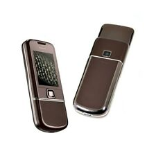 TELEFONO CELLULARE NOKIA 8800 SAPPHIRE ARTE BROWN UMTS LUXURY PHONE.