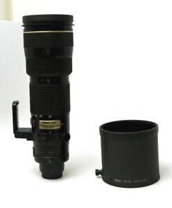 Nikon ED AF-S Nikkor 200-400mm  1.4 G SWM VR ED IF Lens Used Excellent Condition