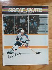 Great Skate Hockey Supply Company Wayne Gretzky Catalog Magazine Edmonton Oilers