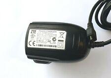 ZTE TRAVEL CHARGER POWER SUPPLY STC-A22O50I1500M5 5.0V 1.5A UK PLUG