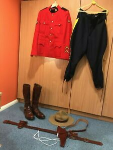 RCMP Royal Canadian Mounted Police Corporal Complete Red Serge Uniform