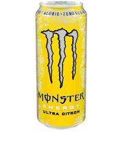 MONSTER Energy ULTRA Citron 500ml LATTINA SENZA AMMACCATURE! da COLLEZIONE estremamente raro! drink