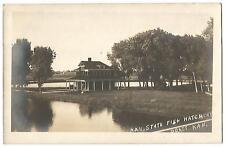 Pratt Kansas KS (Pratt County) Kansas State Fish Hatchery RPPC c.1915
