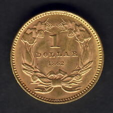 U.S.A. 1862 Gold Dollar..   gEF - Much Lustre